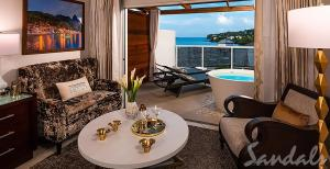 A seating area at Sandals Regency La Toc All Inclusive Golf Resort and Spa - Couples Only