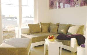 Ein Sitzbereich in der Unterkunft Holiday home Port Olpenitz/Kappeln 30 Germany