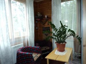 Гостиная зона в House On Tsvetochnaya