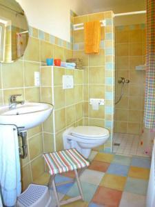 Ein Badezimmer in der Unterkunft Ferienhaus  Lichtblick