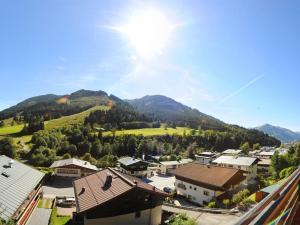 Blick auf Panorama Landhaus aus der Vogelperspektive