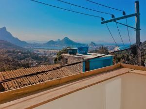 Ein Balkon oder eine Terrasse in der Unterkunft Visual Roc Hostel