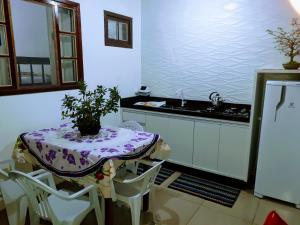 A cozinha ou cozinha compacta de Casa Wilson