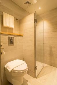 Ванная комната в Cuna Hotel