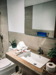 A bathroom at 357 Boracay Resort
