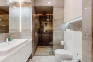 Vonios kambarys apgyvendinimo įstaigoje Z14 Boutique Residence - Krakow Old Town