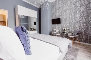 Lova arba lovos apgyvendinimo įstaigoje Z14 Boutique Residence - Krakow Old Town