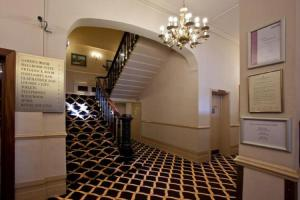The lobby or reception area at North Stafford Hotel