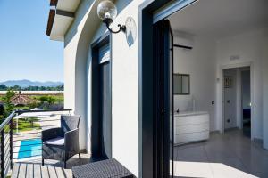 Balcone o terrazza di Oluna Resort
