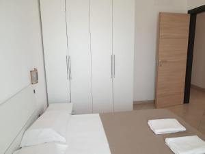 Cama ou camas em um quarto em Aparthotel Por do Sol