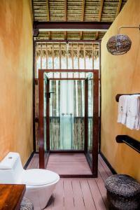 A bathroom at Tambopata Research Center