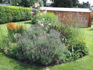 A garden outside Shire Lodge