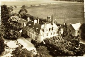 A bird's-eye view of Domaine Plessis Gallu
