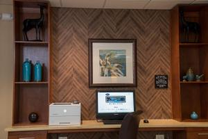A television and/or entertainment center at Hampton Inn Summersville