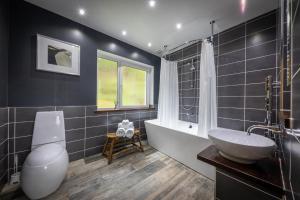 A bathroom at Storr Apartments