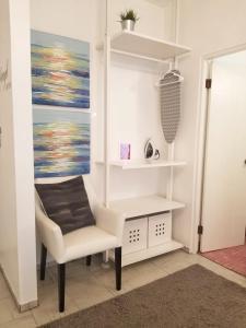 A seating area at Aibonito Hotel 202