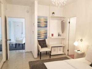 A bathroom at Aibonito Hotel 202