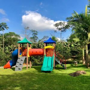 Children's play area at Hotel Fazenda Vale das Pedras