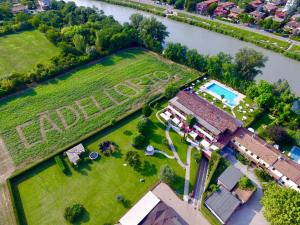 A bird's-eye view of Cà dell'Orto Rooms & Apartments