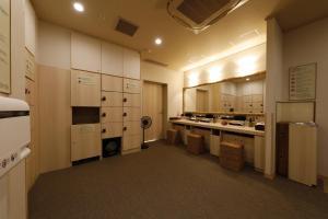 A kitchen or kitchenette at Onyado Nono Asakusa Natural Hot Spring