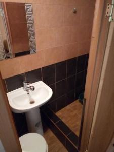 Ванная комната в Мини гостиница Престиж.