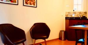 A seating area at STUDIOS 195 - Gramado