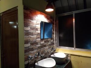 Ванная комната в Bubble Beds