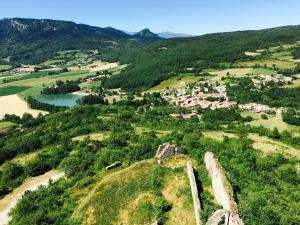 A bird's-eye view of Occitania B&B