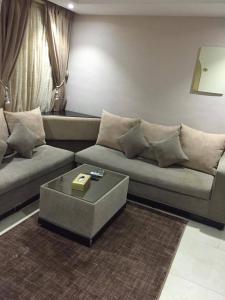 Uma área de estar em Hotel Zayara