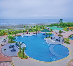 A view of the pool at Royal Tulip Sea Pearl Beach Resort & Spa Cox's Bazar or nearby