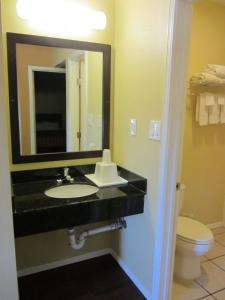 A bathroom at El Paso Inn TX - Airport