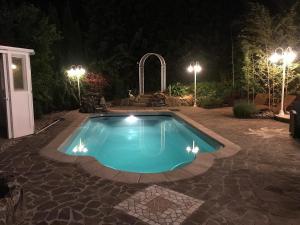 Der Swimmingpool an oder in der Nähe von Villa Salza