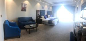منطقة جلوس في Diamond Elite hotel