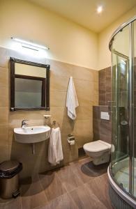 Łazienka w obiekcie Zamek Golubski