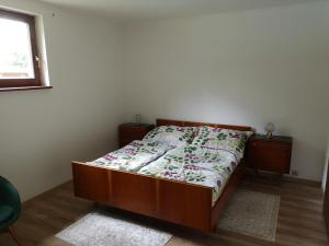 Posteľ alebo postele v izbe v ubytovaní Ranč Nová Zem