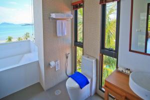 Ein Badezimmer in der Unterkunft Islanda Resort Hotel