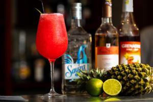Drinks at Mony Reach Angkor Hotel