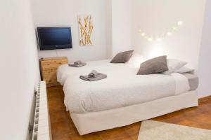 A bed or beds in a room at Espacio tipo estudio completo, totalmente privado e independiente