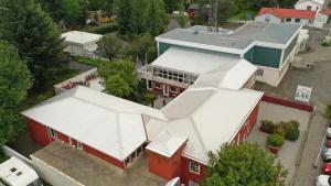 A bird's-eye view of Selfoss Hostel