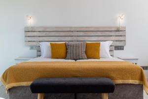 Letto o letti in una camera di Monte Das Alpenduradas