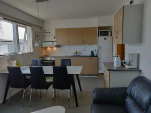 A kitchen or kitchenette at Vandrehuset 2 og 3