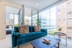 A seating area at 2 BED // BONDI JUNCTION // HARBOUR VIEW ROOFTOP