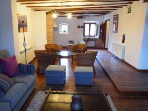 Zona de estar de Casa San Andres Del Valle