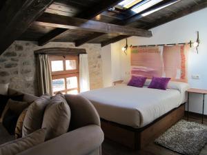 Cama o camas de una habitación en Casa San Andres Del Valle