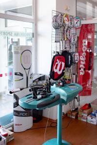 Fitness centrum a/nebo fitness zařízení v ubytování Penzion Na Kurtech