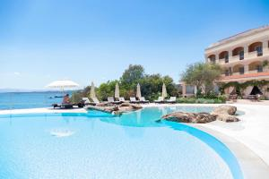 The swimming pool at or near Gabbiano Azzurro Hotel & Suites