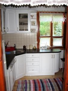 Kuchnia lub aneks kuchenny w obiekcie Pod Dębem