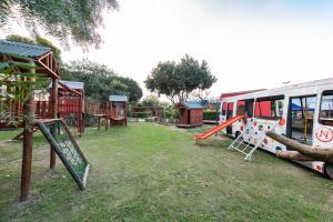 Zona de juegos para niños en Cabañas del Parador