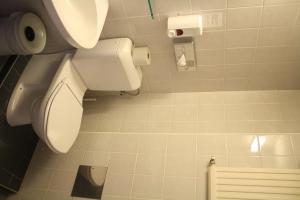 A bathroom at Hotel Ekazent Schönbrunn
