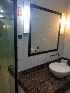A bathroom at Vila do Mar Natal - All Inclusive